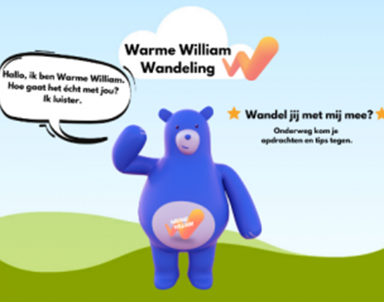 Warme William wandeling