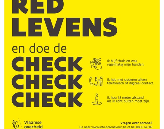 Ik red levens - check